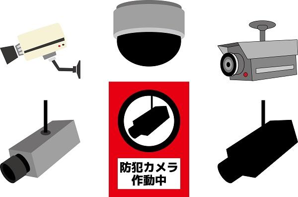 防犯 カメラ イラスト