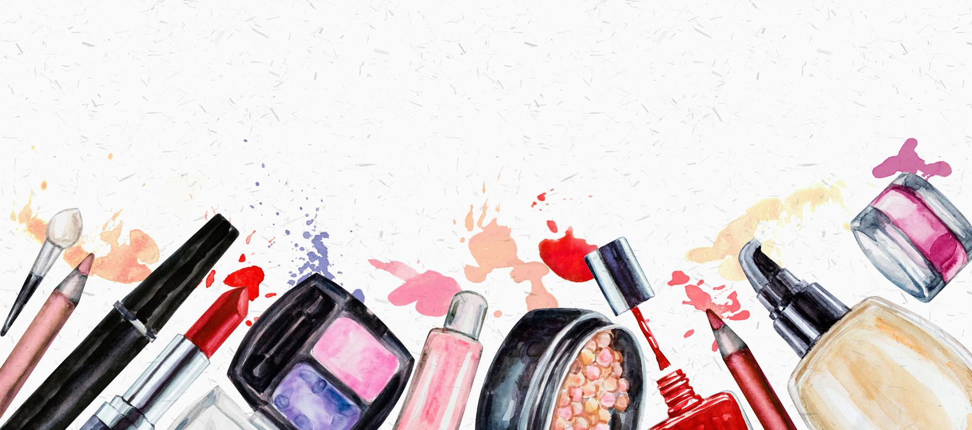 化粧品イラスト
